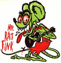 mr. rat fink 1963
