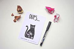 More on http://365postcardsproject.tumblr.com #365postcards #365projectlife #365 #godsavetheteatime #illustration #cat #easter