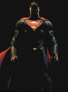 Superman in shadows