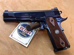 "Factory New #Wilson #Combat CQB Elite Blued .45 5"" | Victory Guns & Guitar Works, LLC"