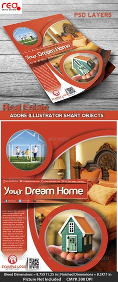 #Real #Estate #Flyer, Poster & #Magzine Cover #Design - Corporate #Flyers Download here: https://graphicriver.net/item/real-estate-flyer-poster-magzine-cover-design/4609050?ref=alena994