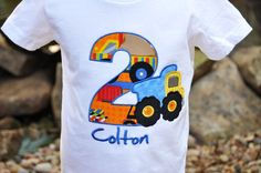 Dump Truck Birthday Shirt / Construction / by AddieKakesKreations, $27.00