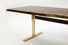BRONZE SHAKER TABLE - Jeff Martin Joinery