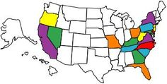 states that I have seen ......want to see every state