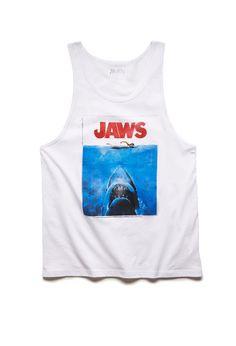 Jaws Tank Top | 21 MEN #21Men