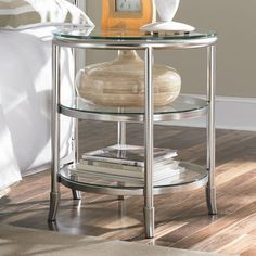 Essex Nightstand Bring trendsetting style to your home d�cor with this must-have nightstand, hand-picked by Hollywood interior designer Michelle Workman.