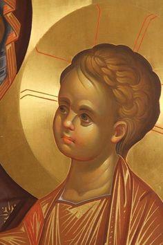 Byzantine Icons, Byzantine Art, Religious Icons, Religious Art, Face Icon, Religious Paintings, Best Icons, Learn Art, Catholic Art