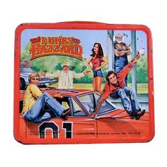 Vintage 1980 Dukes of Hazzard Thermos Lunch Box