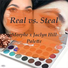 morphe brushes, jaclyn hill palette, cut crease, rot, orange, make.up, amu, beauty blogger, blogger, warm tones