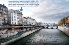A super cute apartment that rents about $ 70/night right in the heart of Paris and on the Seine! Click the photo to read the full review @Roomo rama