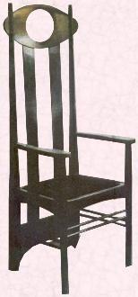 #Chair designed by Charles Rennie #Mackintosh       #arts+crafts #furniture #design