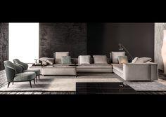 Minotti   Los Angeles  Sofa
