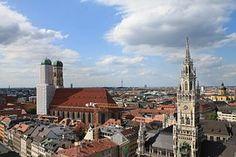 München, Kirche, Frauenkirche, Bayern