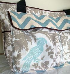 bird, diaper bags, diapers, babi, sew blog, sewing blogs, bag diy nappy, feather, sewing diaper bag