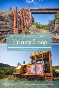 Trinity Loop : Abandoned Amusement Park - Across the Blue Planet