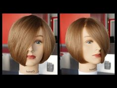 How to cut a Layered Bob - Haircut Tutorial Step by Step - TheSalonGuy awesome haircut