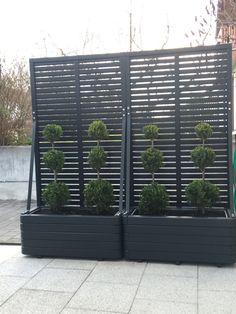 Back Garden Design, Outdoor Privacy, Backyard Patio Designs, Privacy Screens, Home Landscaping, Backyard Makeover, Outdoor Projects, Outdoor Gardens, Landscape Design