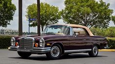1970 Mercedes-Benz Cabriolet Automatic presented as lot at Dallas, TX Mercedes Benz Coupe, Mercedes Maybach, Mercedes Benz Sedan, Mercedes 500, Le Mans, Mercedes Convertible, Benz Amg, Classic Mercedes, Sports Sedan