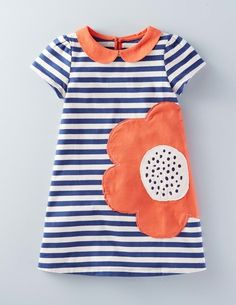 Retro Jersey Dress 33427 Day Dresses at Boden