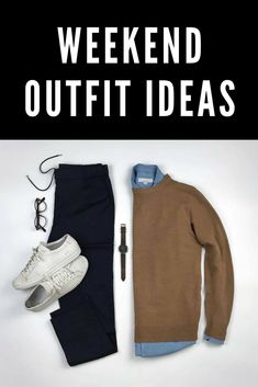 Amazing Weekend Outfit Ideas You Can Steal  We want you to be awesome. To look like the man who knows what he's wearing, the man who understands his style.  Today we've curated some of our favorite outfit ideas you can steal.  Keep scrolling to check out this amazing outfit idea to help you look sharp.