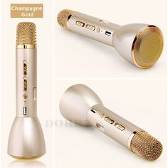 b97f1a2fb7394 Fashionable Hot Sale K song Artifact K088 Mini Portable Wireless Bluetooth  Microphone Speaker Outdoor KTV Singing Machine