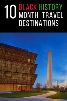 Travel destinations to celebrate black history month.   Photo Credit: Douglas Remley (Smithsonian)