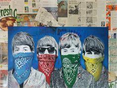 Hierbei handelt es sich um einen handsignierten und per Hand veredelten Siebdruck (Mixed Media) des bekannten Urban Art Künstlers Mr. Brainwash.    Abmessungen: 128cm x 97cm  Material: Verschiedene Medien auf Siebdruck