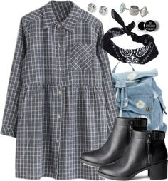 Scorpius Malfoy Inspired First Communion Guest Outfit by hpstyle featuring a plaid shirt dress
