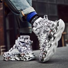 Casual Sneakers, Sneakers Fashion, Casual Shoes, Fashion Shoes, Shoes Sneakers, Mens Fashion, Footwear Shoes, Chunky Shoes, Fresh Shoes