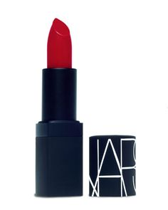 NARS semi-matte lipstick in Jungle Red. Sheer Lipstick, Lipstick For Fair Skin, Purple Lips, Red Lips, Purple Hair, Lipstick Colors, Lip Colors, Lipstick Designs, Kisses