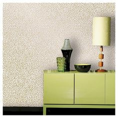 Devine Color Speckled Dot Peel & Stick Wallpaper - Karat repositionable wallpaper from Target Paintable Wallpaper, Wall Wallpaper, Target Wallpaper, Wallpaper Online, Wallpaper Ideas, Removable Wall, Peel And Stick Wallpaper, Print Patterns, How To Remove