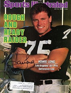 Compare prices on Howie Long Raiders Publications and other Oakland Raiders memorabilia. Save money on Raiders Howie Long Publications by browsing leading online retailers. American Football League, National Football League, Sports Magazine Covers, Si Cover, Oakland Raiders Football, Pittsburgh Steelers, Nfl Football, Sports Illustrated Covers, Raiders Baby