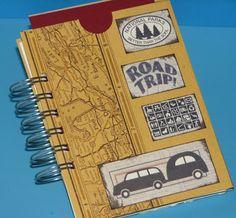 Travel Art Journal - Club Scrap National Parks Challenge