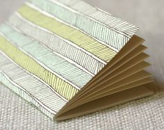 Herringbone jotter from Wit & Whistle