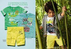 #Sunshine #Shades : O #amarelo está na #moda! #yellow #calções #benetton