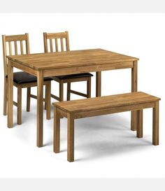 Butterfly Drop Leaf Folding Dining Table and Four Chairs Chairs