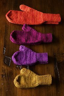 5122c10d275 Ravelry  The World s Simplest Mittens pattern by tincanknits  have in  Google Drive  Knitted