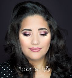https://www.facebook.com/laramkp/  Rosy makeup