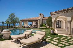 Romanesque Villa at The Strand, Dana Point, California