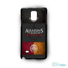 Logo of assassins creed AR for Samsung Galaxy Note 2/3/4/5/Edge phonecase