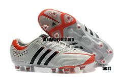 online retailer 2e3ab c146d Adidas AdiPure 11Pro TRX FG miCoach Compatible Running White Black Orange  High Energy  64.98