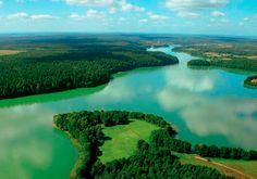 Masuria - the land of a thousand lakes in Poland