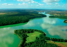 Masuria - the land of a thousand lakes in Poland