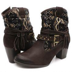 Bota Dakota Ankle Boot – B7324 Cafe | Zariff