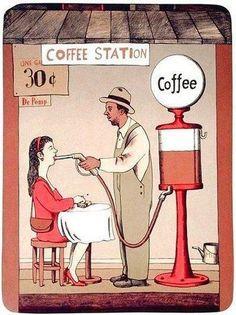Caffee Station -Love it Coffee Talk, Coffee Is Life, I Love Coffee, Coffee Break, Coffee Shop, Coffee Cups, Coffee Coffee, Coffee Lovers, Funny Coffee