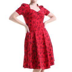 Vestido Pin Up Rojo | Crazyinlove España