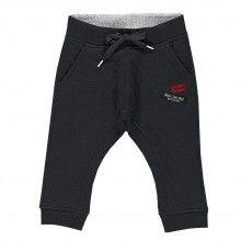 Pantalone jersey tubico grigio