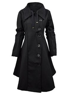 Azbro Modern Button Closure Asymmetrical Hem Black Coat A... https://www.amazon.com/dp/B018LVMASO/ref=cm_sw_r_pi_dp_TInJxbCH72WXV