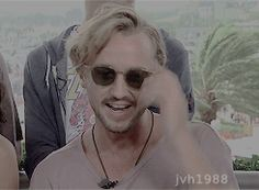 Tom Felton - Comic Con 2016 gif