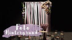 DIY Fotohintergrund für Hochzeiten | Foto Backdrop | Eileena Ley